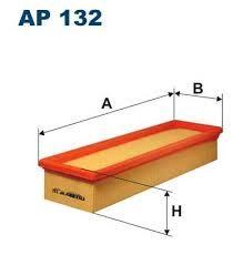 Vzduchový filtr Filtron AP 132