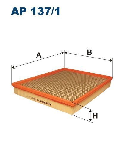 Vzduchový filtr Filtron AP 137/1