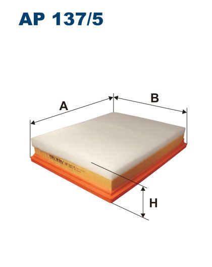 Vzduchový filtr Filtron AP 137/5