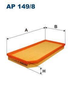 Vzduchový filtr Filtron AP 149/8