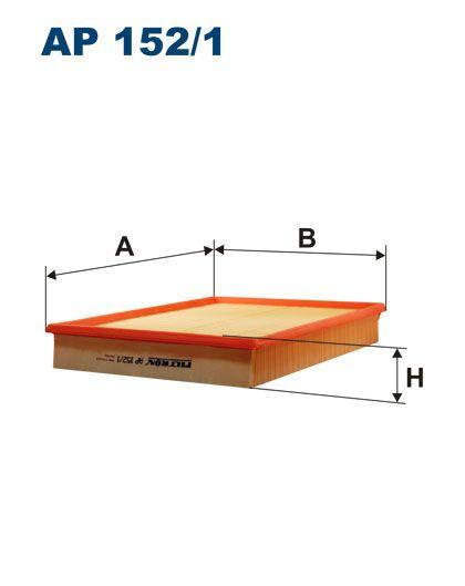 Vzduchový filtr Filtron AP 152/1