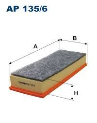 Vzduchový filtr Filtron AP135/6
