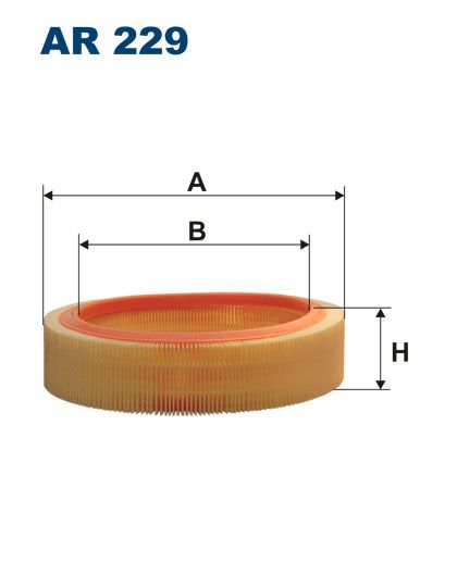 Vzduchový filtr Filtron AR 229