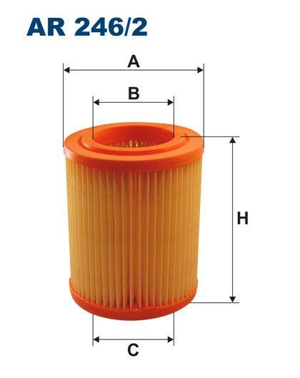 Vzduchový filtr Filtron AR 246/2