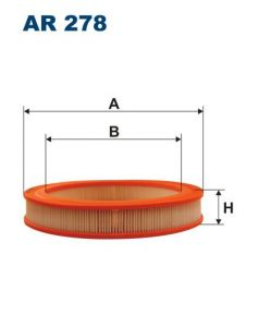Vzduchový filtr Filtron AR 278