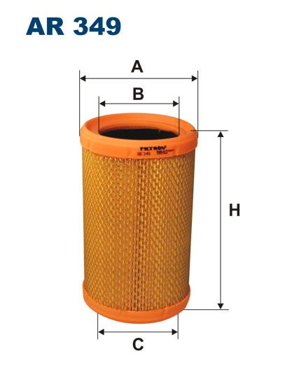 Vzduchový filtr Filtron AR 349