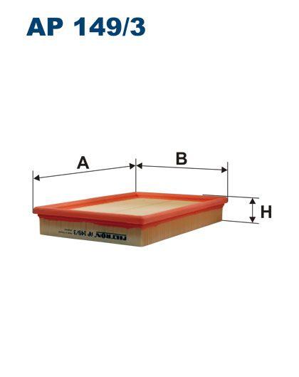 Vzduchový filtr Fitron AP 149/3 Filtron