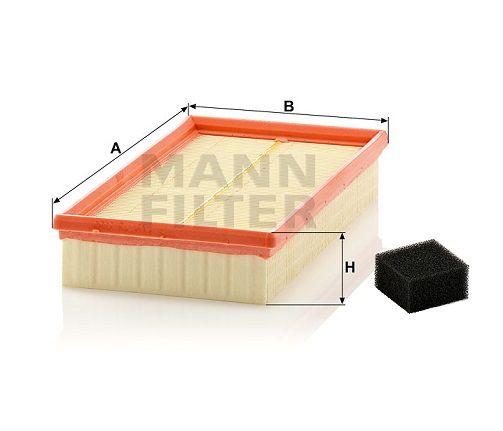 Vzduchový filtr Mann-Filter C 2774/3 KIT
