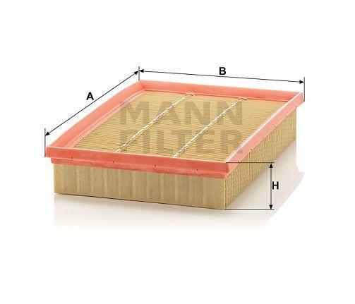 Vzduchový filtr Mann-Filter C 28 122
