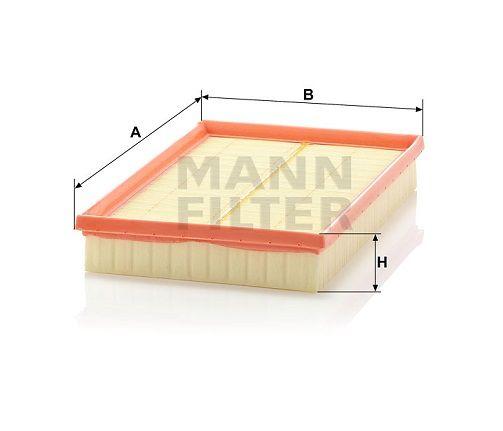 Vzduchový filtr Mann-Filter C 2998/5 x