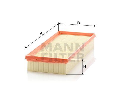 Vzduchový filtr Mann Filter C 3498 Mann-Filter