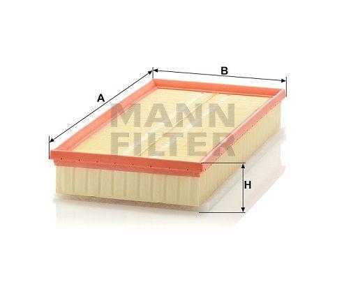 Vzduchový filtr Mann-Filter C 37 153/1