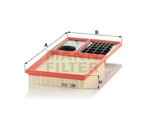 Vzduchový filtr Mann-Filter C 3880