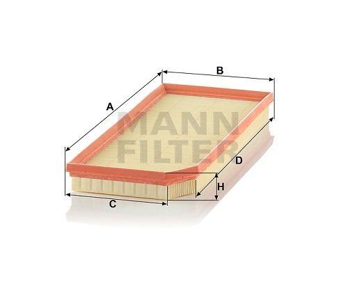 Vzduchový filtr Mann-Filter C 41 110