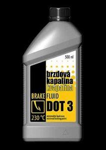 HAPPY CAR Brzdová kapalina DOT 3 500 ml