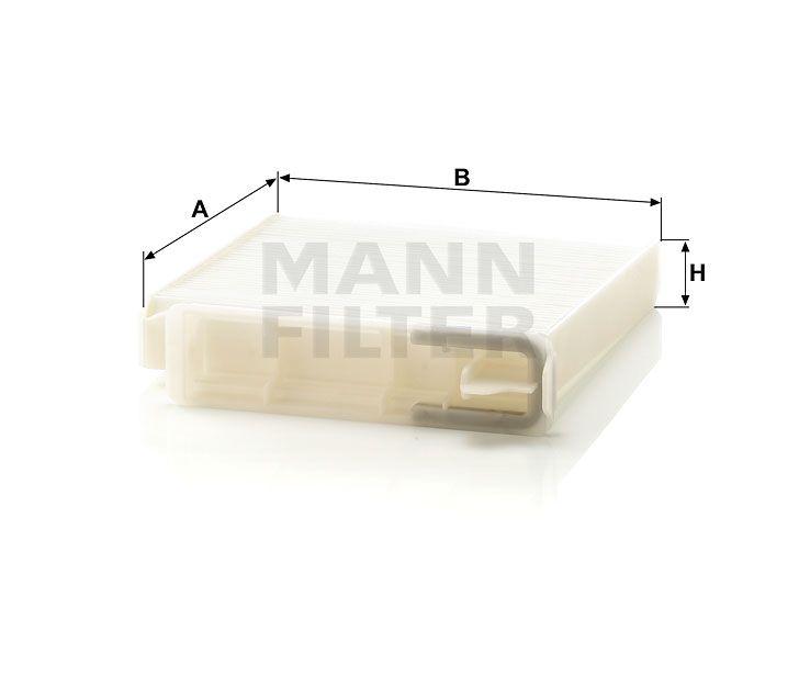 Kabinový filtr Mann-Filter CU 1829