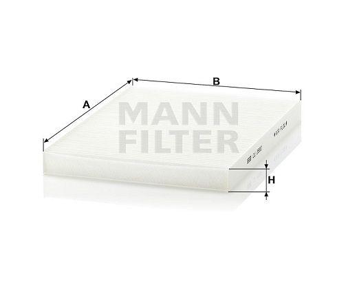 Kabinový filtr Mann Filter CU 2882 Mann-Filter