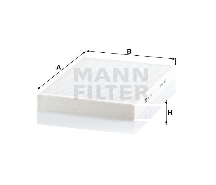Kabinový filtr Mann-Filter CU 3037
