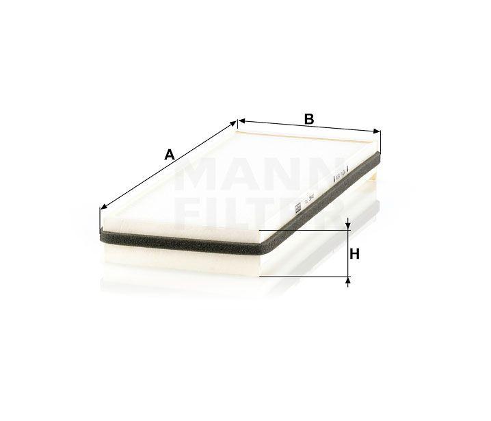 Kabinový filtr Mann-Filter CU 3840
