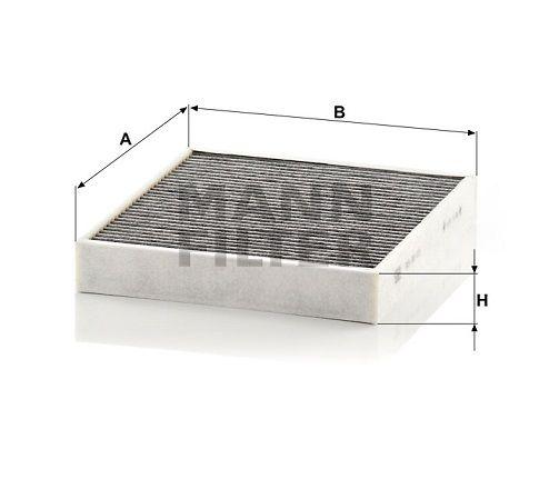 Kabinový filtr Mann-Filter CUK 26 010