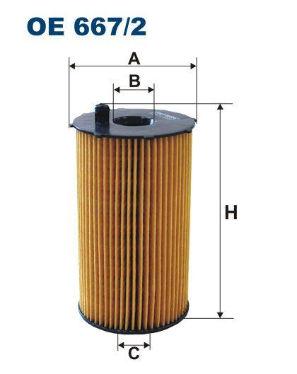 Olejový filtr Filtron OE 667/2