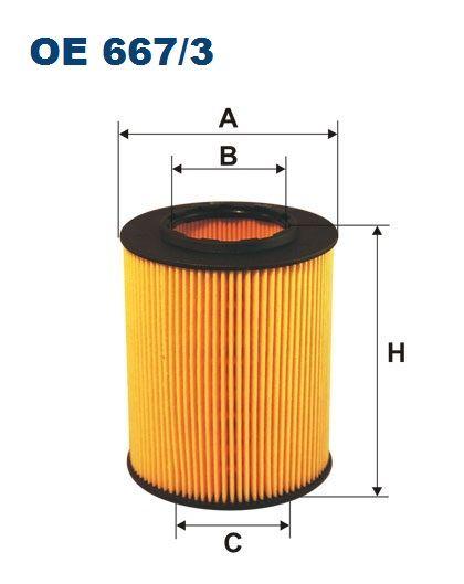 Olejový filtr FIltron OE 667/3