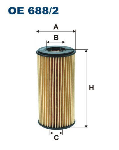 Olejový filtr Filtron OE 688/2