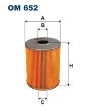 Olejový filtr Filtron OM 652