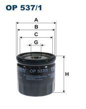 Olejový filtr Filtron OP 537/1