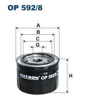 Olejový filtr Filtron OP 592/8