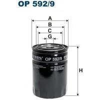 Olejový filtr Filtron OP 592/9