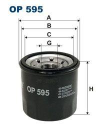 Olejový filtr Filtron OP 595