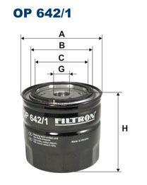 Olejový filtr Filtron OP 642/1