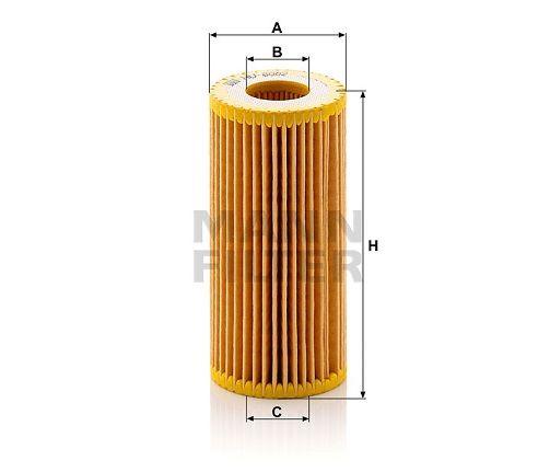 Olejový filtr Mann-Filter HU 6002 z