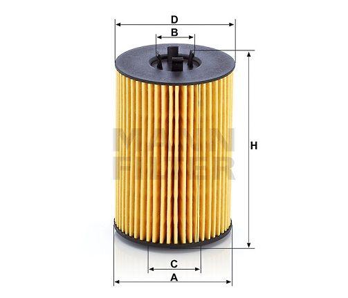Olejový filtr Mann-Filter HU 7020 z