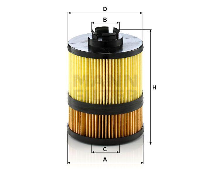 Olejový filtr Mann-Filter HU 9002z