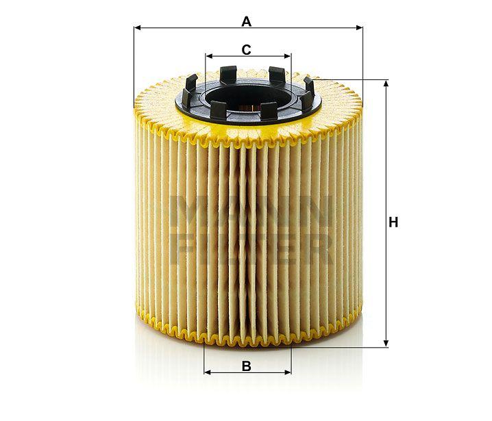 Olejový filtr Mann-Filter HU 923x