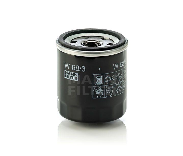 Olejový filtr Mann-Filter W 68/3