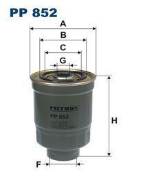 Palivový filtr Filtron PP 852