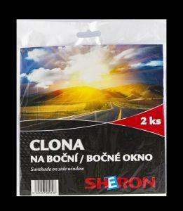 SHERON sluneční clona na boční okna 2 ks