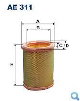 Vzduchový filtr Filtron AE 311