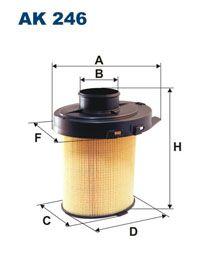 Vzduchový filtr Filtron AK 246