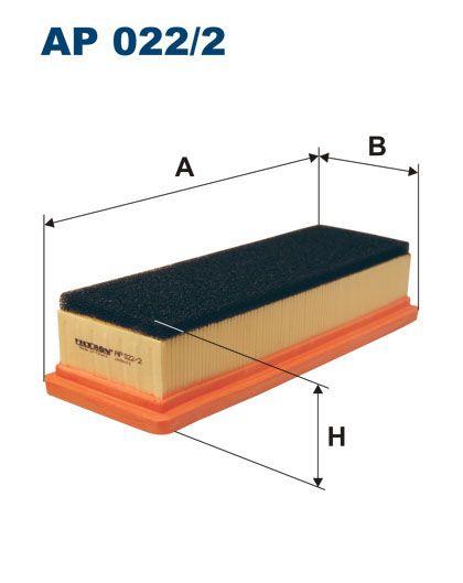 Vzduchový filtr Filtron AP 022/2