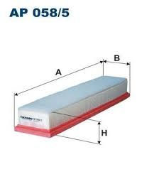 Vzduchový filtr Filtron AP 058/5