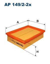 Vzduchový filtr Filtron AP 149/2-2x
