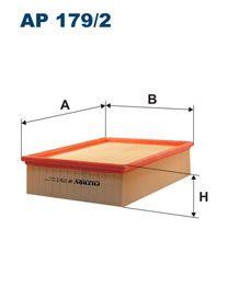 Vzduchový filtr Filtron AP 179/2