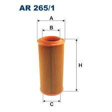 Vzduchový filtr Filtron AR 265/1