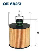 Olejový filtr Filtron OE 682/3