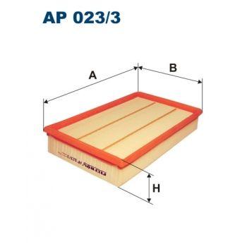 Vzduchový filtr Filtron AP 023/3