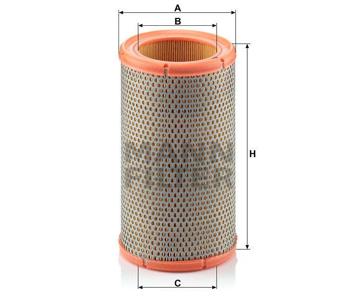Vzduchový filtr Mann-Filter C 1380